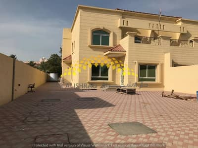 4 Bedroom Villa for Rent in Al Goaz, Sharjah - Brand new 4 bedroom villa with huge hall,2 kitchens big Balcony