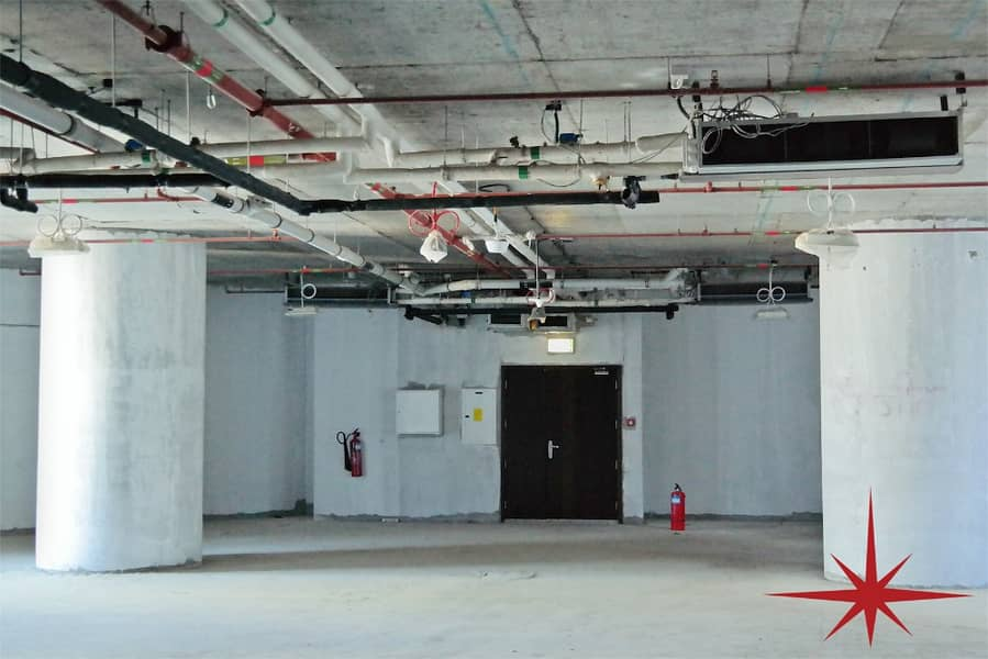 Shell & Core I 3-4 Months Rent Free  Limited Floor