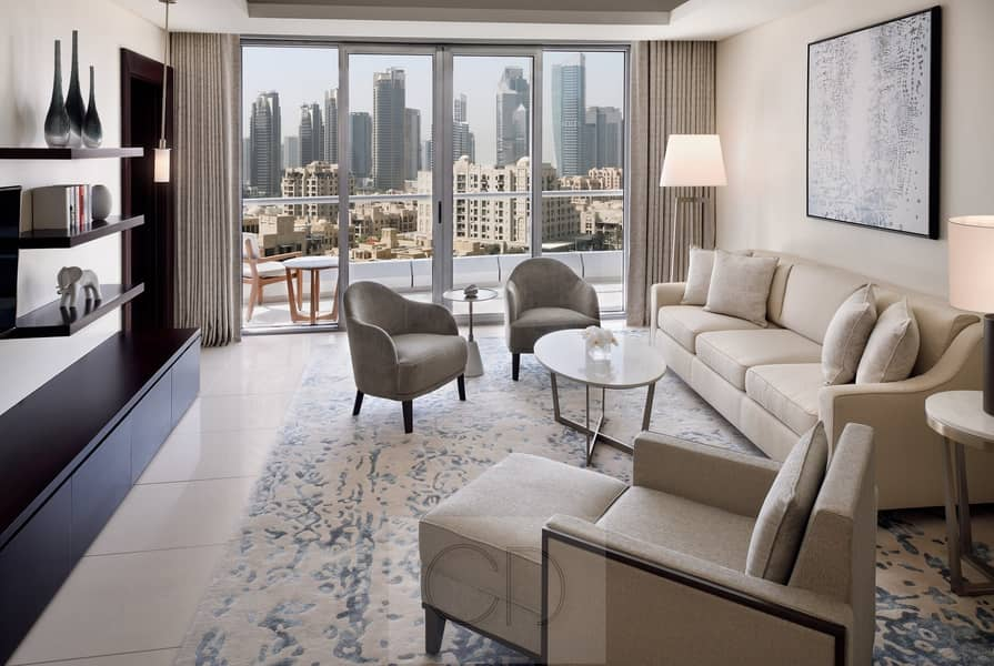 2 Luxury Premium Apartment in Mall & Burj.