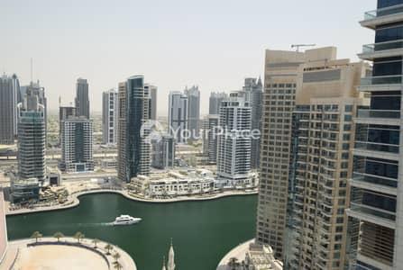 فلیٹ 1 غرفة نوم للايجار في دبي مارينا، دبي - Huge Layout I 1BR Apartment I Chiller Free I Skyview Tower
