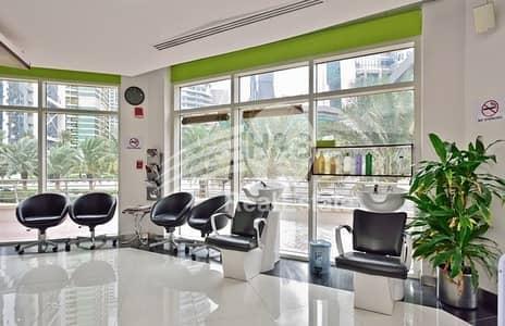محل تجاري  للايجار في أبراج بحيرات الجميرا، دبي - Running Mens Salon Business for Sale in JLT