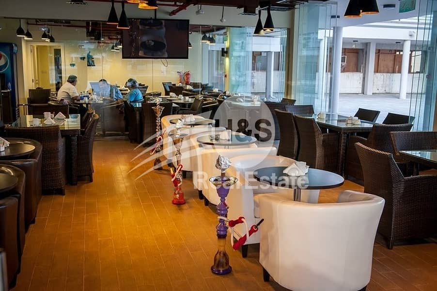 Proper Shisha Cafe in JLT | Great Lake Location