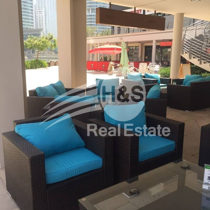 2 Proper Shisha Cafe in JLT | Great Lake Location