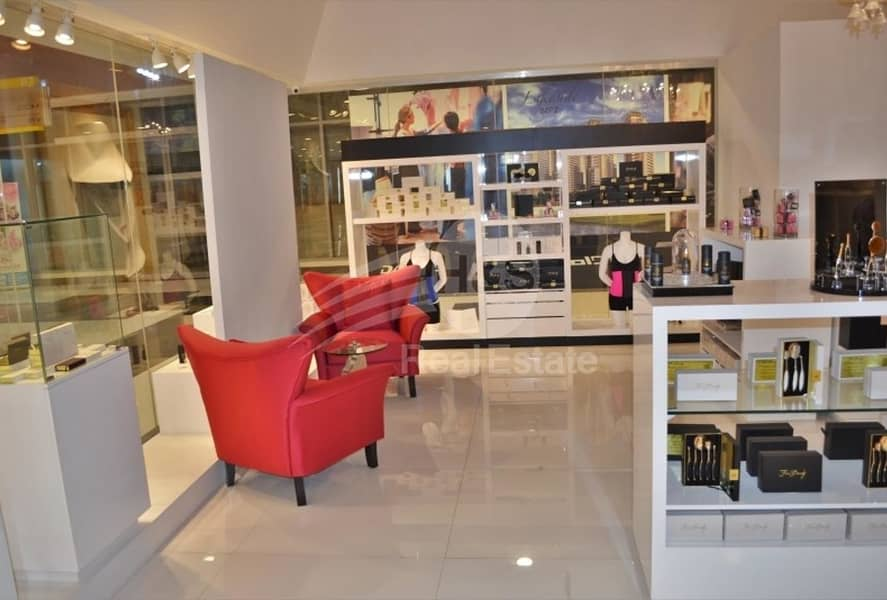 Ready retail corner shop for sale in DIFC
