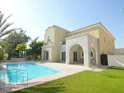 6 Bedroom Villa for Rent in Dubai Sports City, Dubai - A1 Upgraded l Amazing Golf View l Private Pool