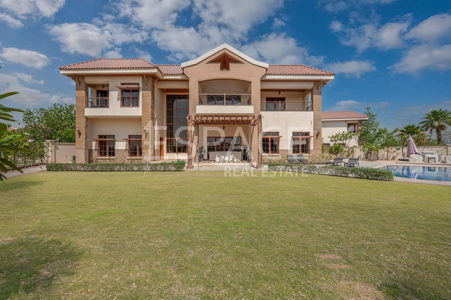 2 Best Lake View and Largest Plot Jumeirah Islands Mansion