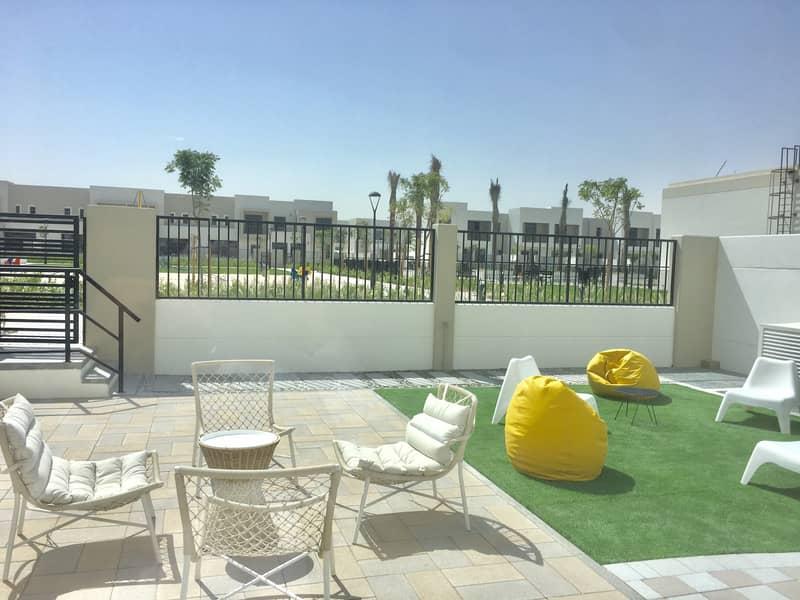 10 Corner Unit | Opposite Pool N Park | 4BR+Maids