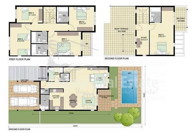 10 HOT DEAL 5 Bedroom villa for SALE ONLY 2M