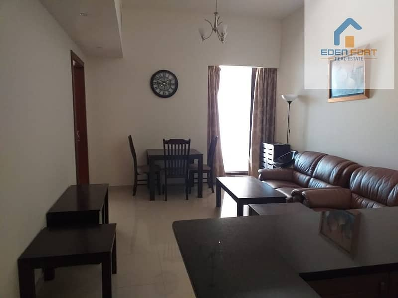 Amazing Layout 1BHK Fully Furnished in Sports City