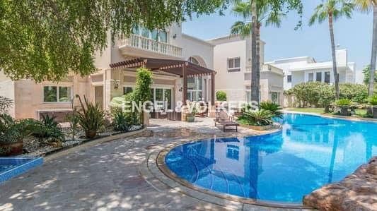 فیلا 6 غرفة نوم للبيع في تلال الإمارات، دبي - Elegant  Villa | Lush Garden | Large Pool |