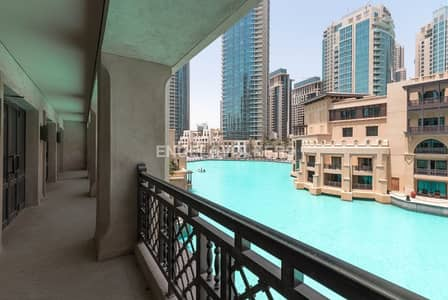 Office for Sale in Old Town, Dubai - Shell & Core | Burj Khalifa View | Balcony
