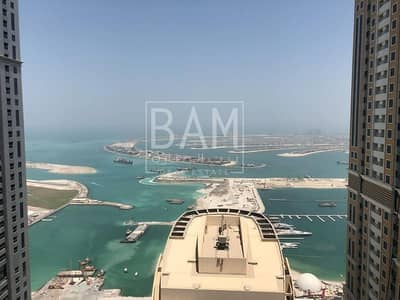 Best Investor Deal !!!  Higher Floor Stunning Sea view 3 BHK apartment for Sale in Marina Pinnacle