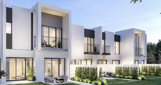 3 Bedroom Townhouse for Sale in Dubailand, Dubai - Single Row | DLD Waived | 5 Yrs Service Chrgs Free
