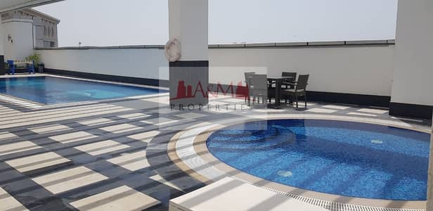 2 Bedroom Flat for Rent in Danet Abu Dhabi, Abu Dhabi - Hot deal brand new two bedroom with balcony 85