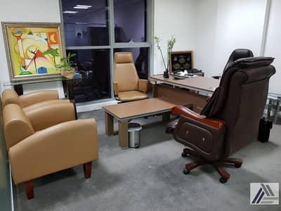 مکتب  للايجار في المدينة العالمية، دبي - Established Your New Business Setup|Independent |Fully Furnished|Serviced Offices Start from  20