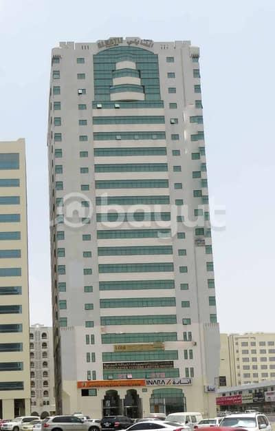 شقة غرفتين وصالة للايجار 37k في أبوشغارة . . شهر مجاناً . . التكييف مجاناً على المالك . .  بدون عمولة