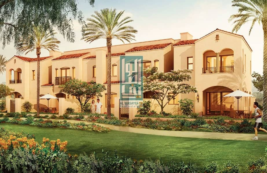 AVAIL NOW ! Villa in Casa Viva Dubai. Starting from 1.5M with payment plan .3Bedroom