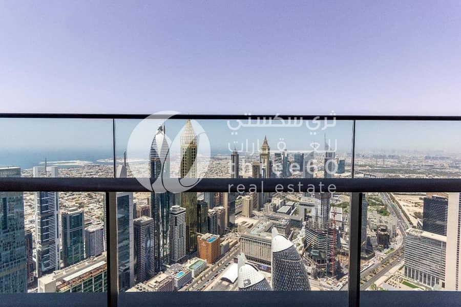 2 DIFC 3BR Penthouse - Stunning Dubai Skyline View