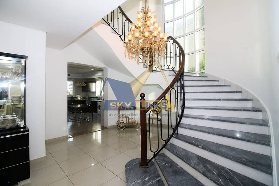 13 Fully Upgraded 5BR+Maids Room  Villa For Rent