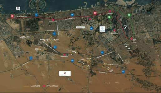 ارض سكنية  للبيع في البرشاء، دبي - Plot/ G+6/ Free Hold/ 2% DLD