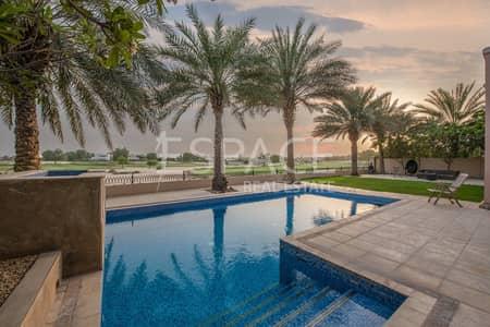 فیلا 6 غرفة نوم للبيع في المرابع العربية، دبي - Quiet Location - Full Golf Course Views