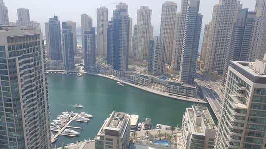 فلیٹ 3 غرفة نوم للبيع في دبي مارينا، دبي - Close to Metro I Fully furnished I Chiller free 3 bed for Rent