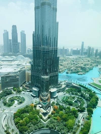 2 Bedroom Apartment for Sale in Downtown Dubai, Dubai - FULL BURJ KHALIFA AND FOUNTAIN VIEW/2 BEDROOM FOR SALE