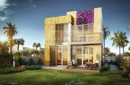 3 Bedroom Villa for Sale in Akoya Oxygen, Dubai - Just Cavalli Branded Villa | Own Your Home