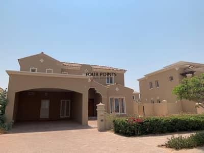 4 Bedroom Villa for Rent in Umm Al Quwain Marina, Umm Al Quwain - Near the pool|  4BR+M Villa |Mistral by EMAAR