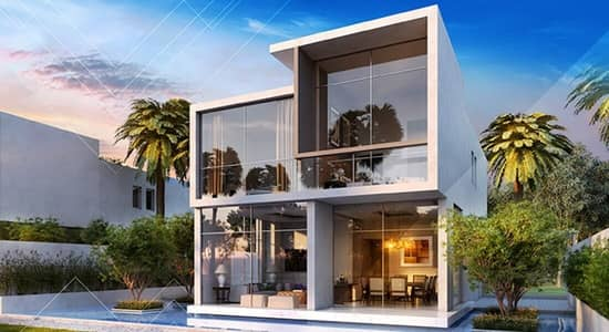 3 Bedroom Villa for Sale in Akoya Oxygen, Dubai - 3 BR+Maid. Completion 2019. 100% OFF DLD. 4 years free service charge.