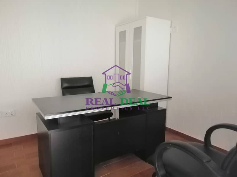 Fully fitted shop with office set up for rent