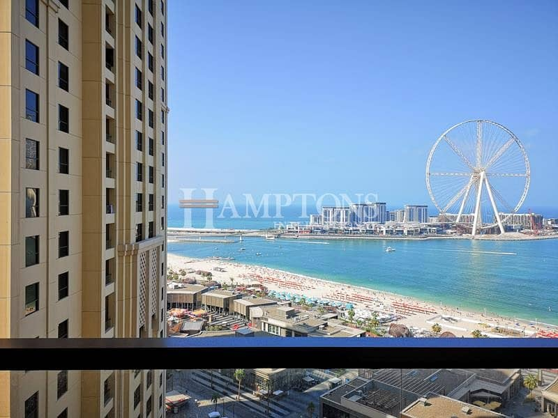 2 2 BR | Full sea view | Upgraded | Unfurnished