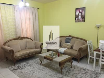 1 Bedroom Flat for Rent in International City, Dubai - Fully Furnished Large  One Bedroom Hall with Balcony in ITALY