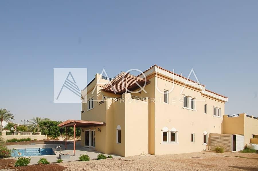 6 BR Mazaya C2 Villa with Pool and Garden