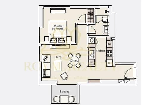 12 |Amazing 1 Bedroom| 10% Down Payment |Wilton Park|