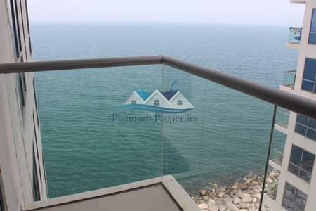 شقة 1 غرفة نوم للايجار في جزيرة المرجان، رأس الخيمة - NEW Amaising 1 br Sea View Cheller Free