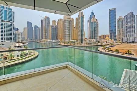 3 Bedroom Apartment for Rent in Dubai Marina, Dubai - NEW PRICE   3 bedrooms   Large Balcony