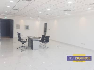 مکتب  للايجار في أم الشيف، دبي - Fitted Office for Rent in SP Metro - Umm Al Shief