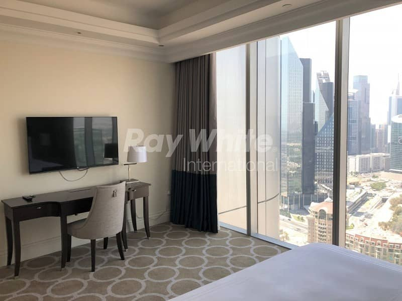 11 Luxury Furnished  1 BR  The Address BLVD