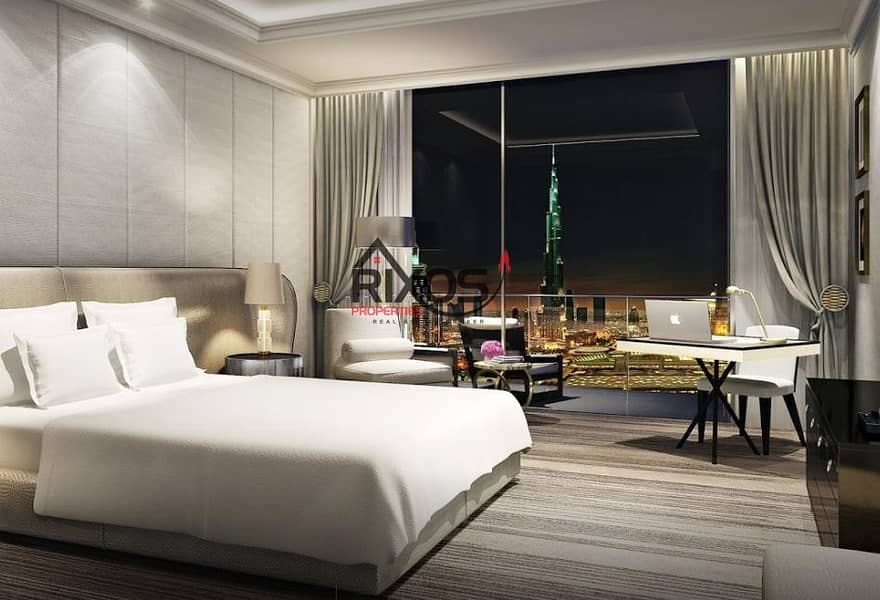2 Elegant 2 Bed | Fully Furnished | Fountain View | Burj & Fountain View