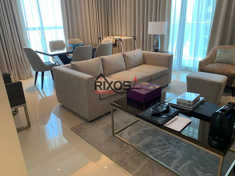 19 Elegant 2 Bed | Fully Furnished | Fountain View | Burj & Fountain View