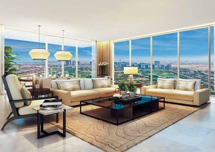 شقة 2 غرفة نوم للبيع في التلال، دبي - High-end Sophisticated Serviced Apts. in Golf-course Community