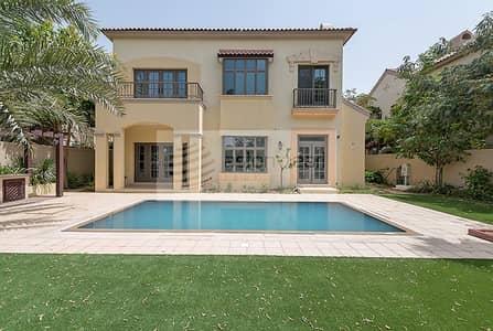 فیلا 5 غرفة نوم للبيع في جميرا جولف إستيت، دبي - Full Unobstructed Golf Course View 5BR+M