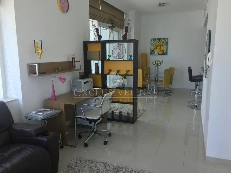 2 Sea View fully furnished 1 bed to rent in Botanica