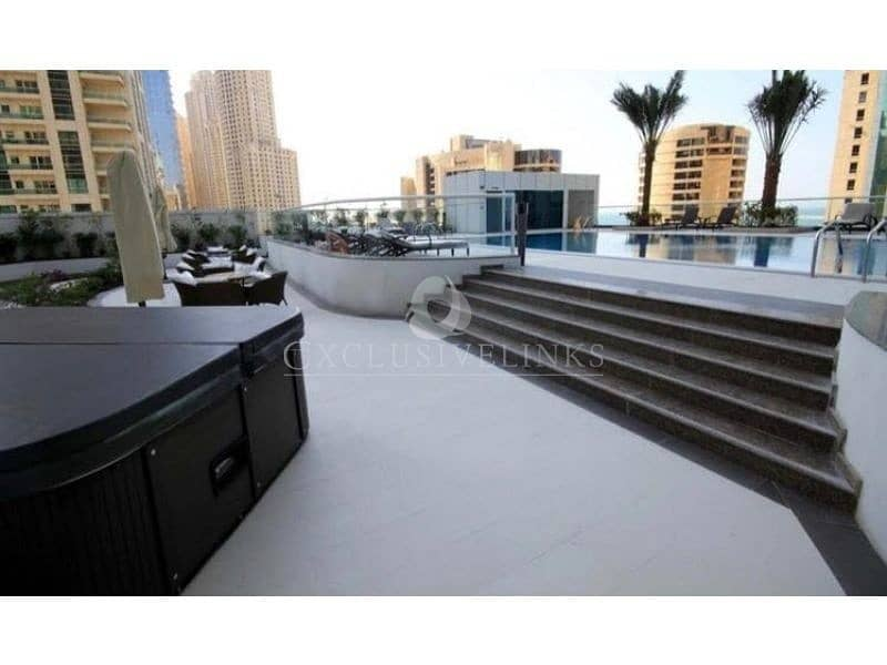10 Sea View fully furnished 1 bed to rent in Botanica