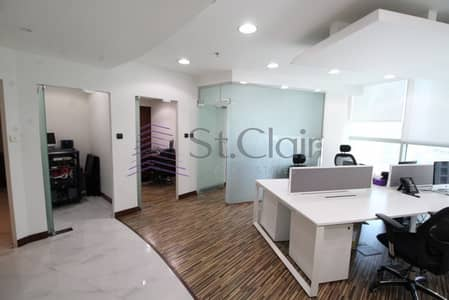Low Rental Price Office | Fully furnished | Tecom