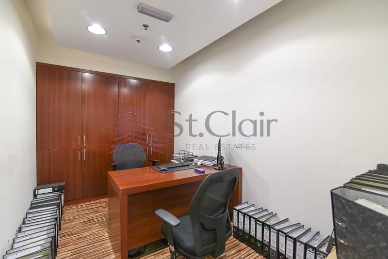 10 Low Rental Price Office | Fully furnished | Tecom