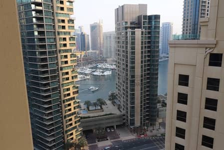 2 Bedroom Flat for Rent in Jumeirah Beach Residence (JBR), Dubai - Partial Sea And Marina View- 2 Bedroom for rent in Bahar 1