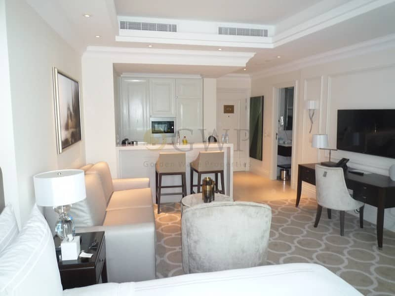 2 furnished apt / High Floor / DIFC View.