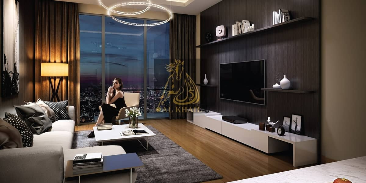 Affordable Upscale 1BR Apartment for sale in Meydan   Only 1% Booking   60% On Completion   4 Year Free Service Charge